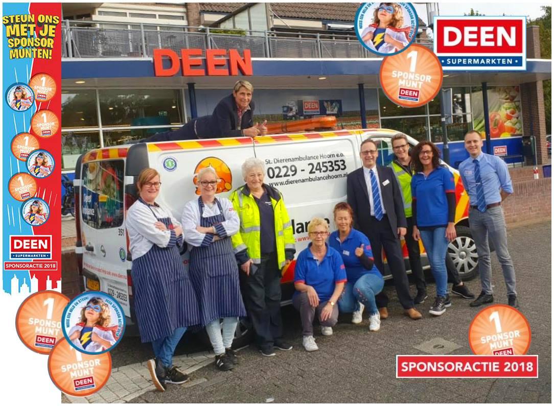 Sponsoractie Deen supermarkt.
