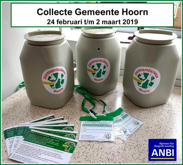 Collecteweek gemeente Hoorn